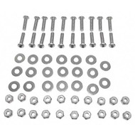 Fender Flare Stainless Steel Hardware Kit