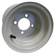 "8"" Steel Yamaha Stone Golf Cart Wheel, Standard"