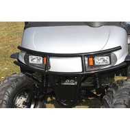 EZGO RXV Front Brush Guard, Black Powder Coat Steel