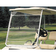Clear Vinyl Portable Golf Cart Windshield