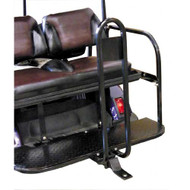 Golf Cart Rear Seat Hitch with Safety Bar