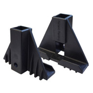 Step Plate Support Brackets, Set of 2, Deluxe and Standard Flip Seats