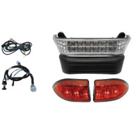 Economy LED Light Bar Kit, Club Car Precedent 08.5+, 12V Batteries