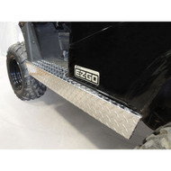 Diamond Plate Rocker Panels, EZGO RXV