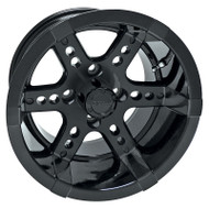 RX262 14x7 Golf Cart Wheel, Black