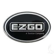 Golf Cart Replacement Emblem, Platinum, EZGO Workhorse