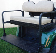 Rear Golf Cart Flip Seat, EZG RXV Golf Carts
