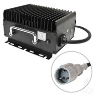 Golf Cart Battery Charger, Club Car, 11 Amps, 48 Volts