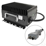 Golf Cart Battery Charger, Crowsfoot, 15 Amps, 36 Volts