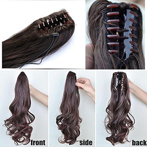 Body wave real human hair ponytails hairpiece claw clip ponytail body wave real human hair ponytails hairpiece claw clip ponytail hair extensions pmusecretfo Choice Image