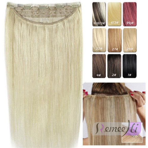 Piece 5 clip in remy human hair extensions super thick straight one piece 5 clip in remy human hair extensions super thick straight 20inch 120g 22 color pmusecretfo Images