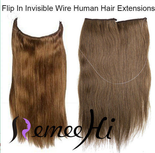 120g flip in thick human remy secret invisible wire hair extension remeehi 120g flip in thick human remy secret invisible wire hair extension any color 25cm pmusecretfo Image collections