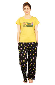 Female Pajama & T-Shirt Set