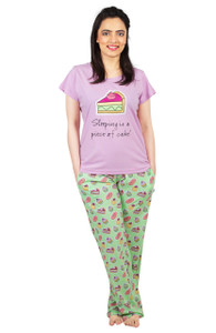 Female T-Shirt & Pajama Set