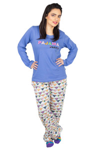 Female Pajama and T-Shirt Set