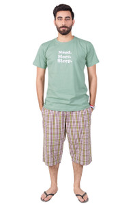 Need More Sleep - Male Shorts and T-Shirt Set - 20% OFF