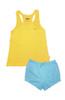 Sleeveless and Shorts Set