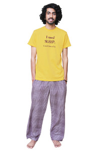 Male Pajama and T-Shirt Set
