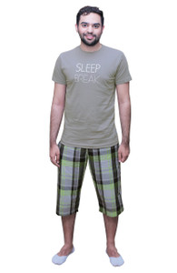 Male Shorts and Half Sleeved T-Shirt Set