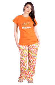 Female Pajama & T-Shirt Set