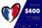 70E - $400 Gift Certificate