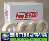 48mm x 55m Econo Grade HYSTIK Masking Tape 24/cs 8034855
