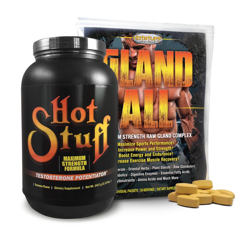Hot Stuff Banana & Gland-All Anabolic Combo