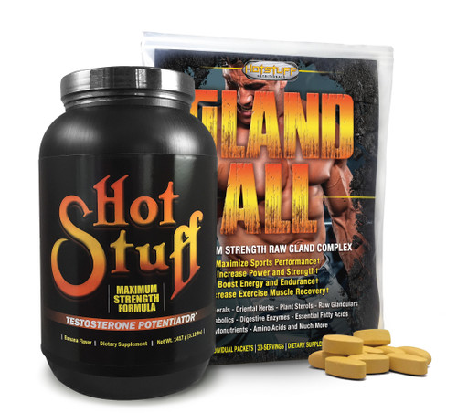 Hot Stuff Banana & Gland-All Anabolic Combo