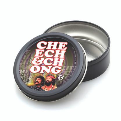ROUND STASH TIN - CHEECH & CHONG - RETRO