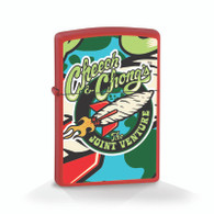 "Cheech & Chong ""Joint Venture"" - Chrome - Official Zippo® Lighter"