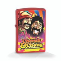 "Cheech & Chong ""Rise To The Occasion"" - Red Matte - Official Zippo® Lighter"