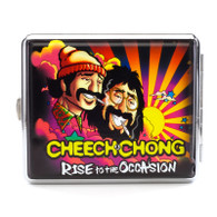 """Cheech & Chong Deluxe Cigarette Case  - 100mm """"Rise to the Occasion"""""""