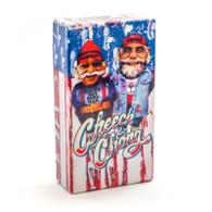 """Cheech & Chong Flip Top Cigarette Case - 100mm """"USA"""""""
