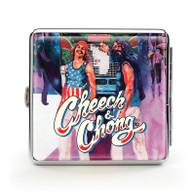 """Cheech & Chong Deluxe Cigarette Case - 85 mm """"Truckin"""""""