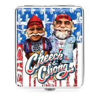 """Cheech & Chong Deluxe Cigarette Case  - 100mm """"USA"""""""
