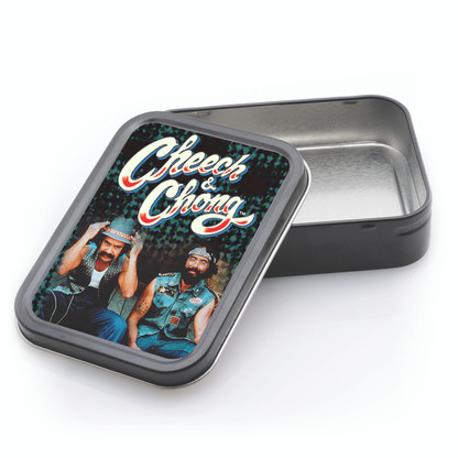 LARGE STASH TIN - CHEECH & CHONG THE GUYS
