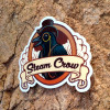 Steam Crow Crow Sticker