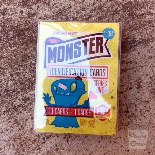 Monster ID Card Set Series 1