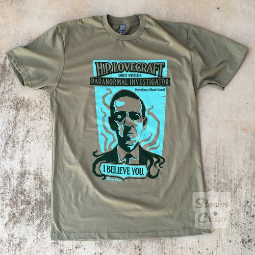 Lovecraft Paranormal Investigator Shirt