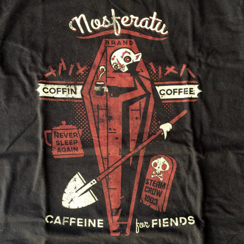 Coffin Coffee Shirt
