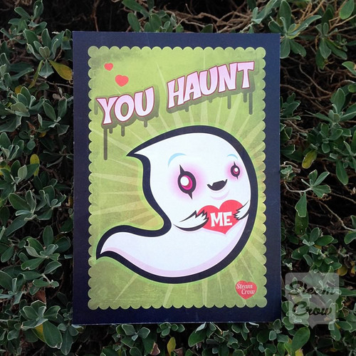 You Haunt Me Miniprint