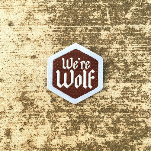We're Wolf Spirit Badge
