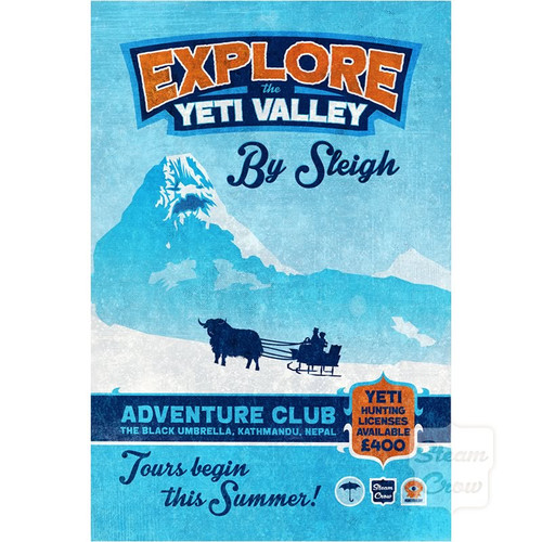 Explore Yeti Valley