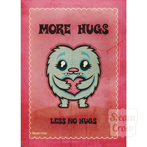 More Hugs Miniprint