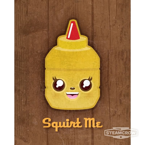 Squirt Me Mustard 8x10