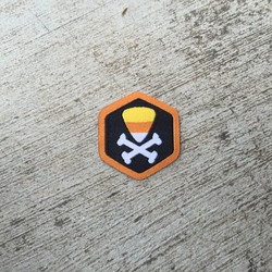 Candy Corn of Doom Spirit Badge