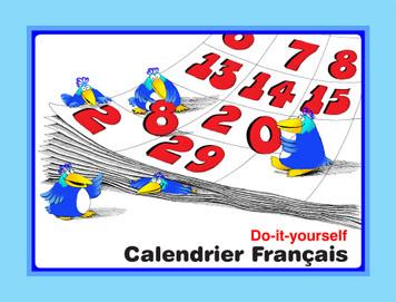 Calandrier Francais e-Book