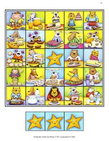 Vocabulary Cards and Bingo - Sample 2