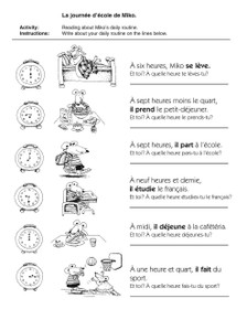 Easy French Activities - Sample 1