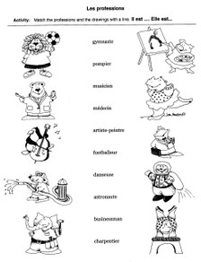 Easy French Activities - Sample 3